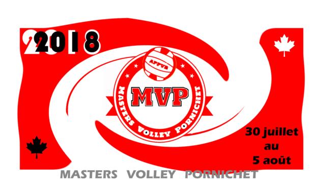 Programme des Masters Volley Pornichet 2018